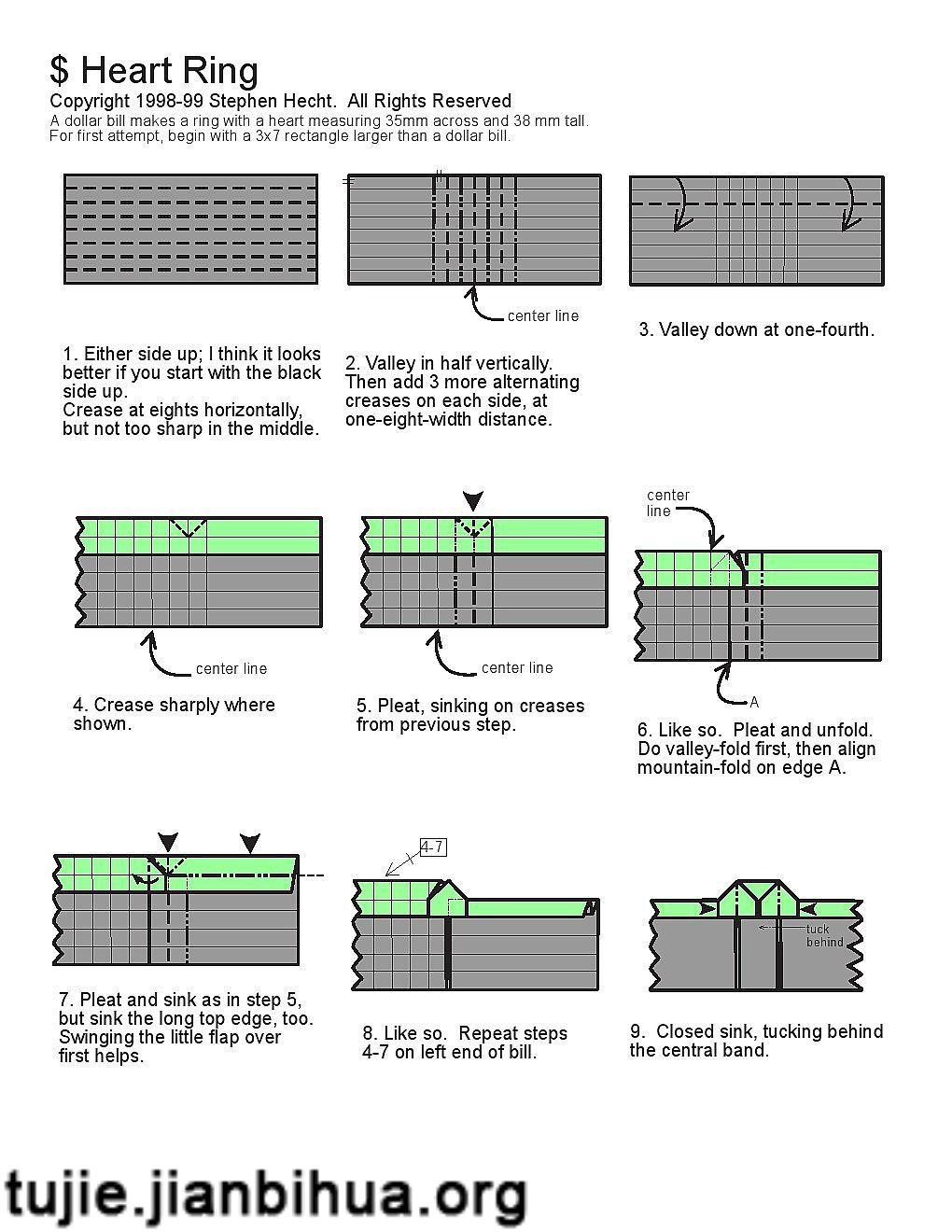 【樱花的折纸方法 怎样折樱花】图解步骤