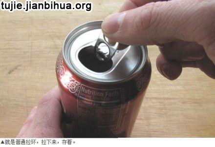易拉罐环台灯制作方法图解