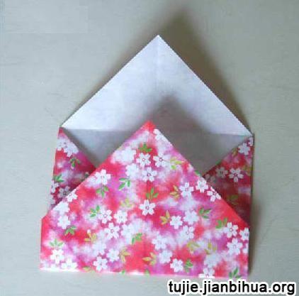 折纸礼物盒的做法图解