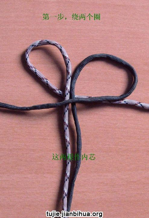 中国结手工手链编织方法图解