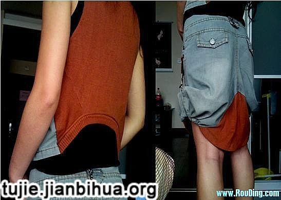 牛仔裤改造全套春装教程图解