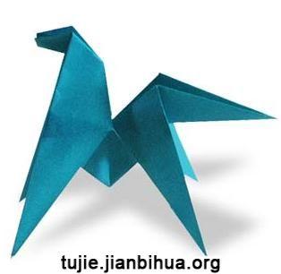 飞马折纸方法图解