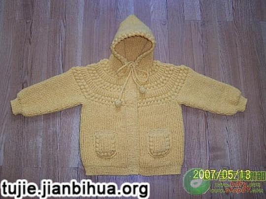 儿童毛衣编织方法图解