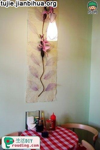 重点点拨:卧室的装饰原则,就是安宁平和的基础上,彰显私密空间的个性与独特。具有亲和力的色彩是整个DIY过程重要的部分。正确的色彩可以实现更多富有想象力的装扮方法。 专家意见:对于卧室墙壁装饰来说,没有必要天花、腰线通通花大力气装饰,只需要选出重点部位,如床头部位或床顶的天花,只需挑选一个使它成为卧室的焦点,以营造温暖迷人的氛围。给平淡的卧室空间增加让人兴奋的装饰亮点。
