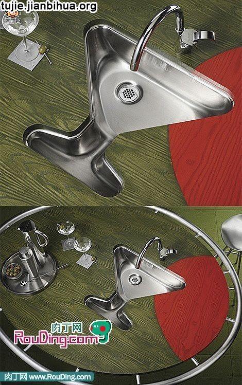 创意水槽设计作品欣赏