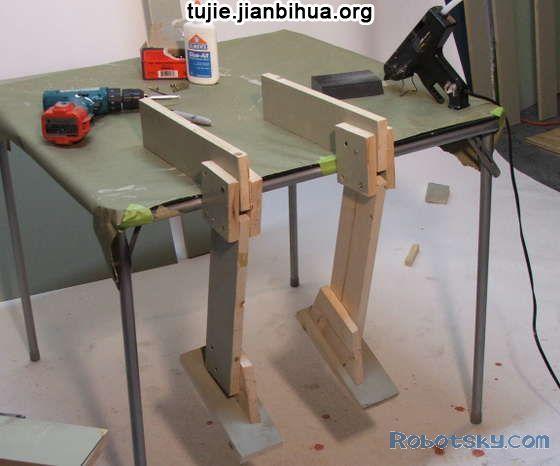 木头机器人的制作图解