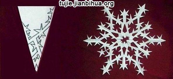 Как сделать снежинку ёлку своими руками