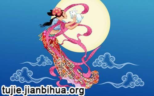 传统手工 > 中秋节传统绘画图片欣赏(一)