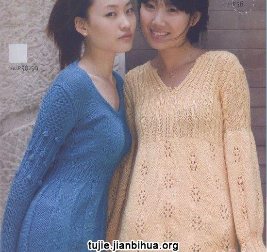 编织连衣裙方法图解