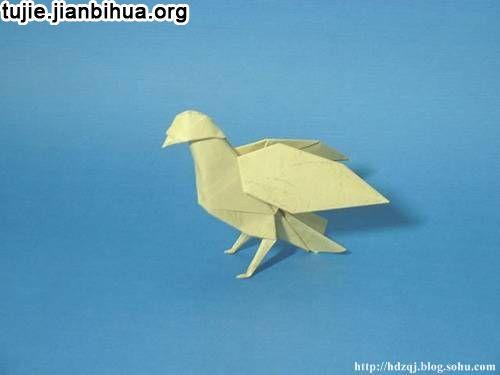 动物仿生立体构成作业仿生折纸立体构成 图立体
