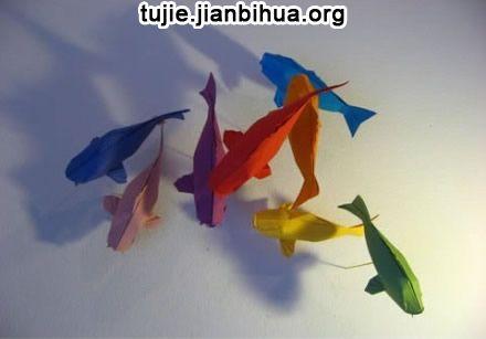 折纸蝴蝶结步骤图解