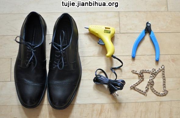 鞋各部位名称图解