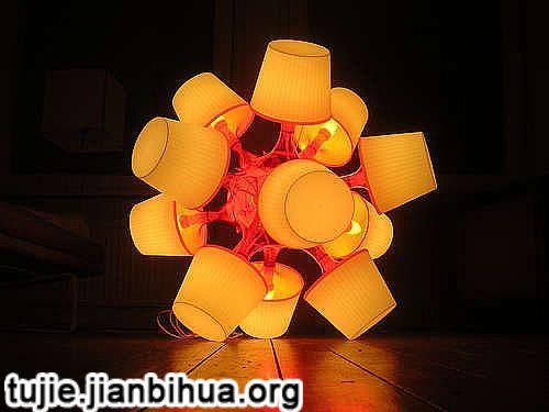 纸杯小台灯做法图解