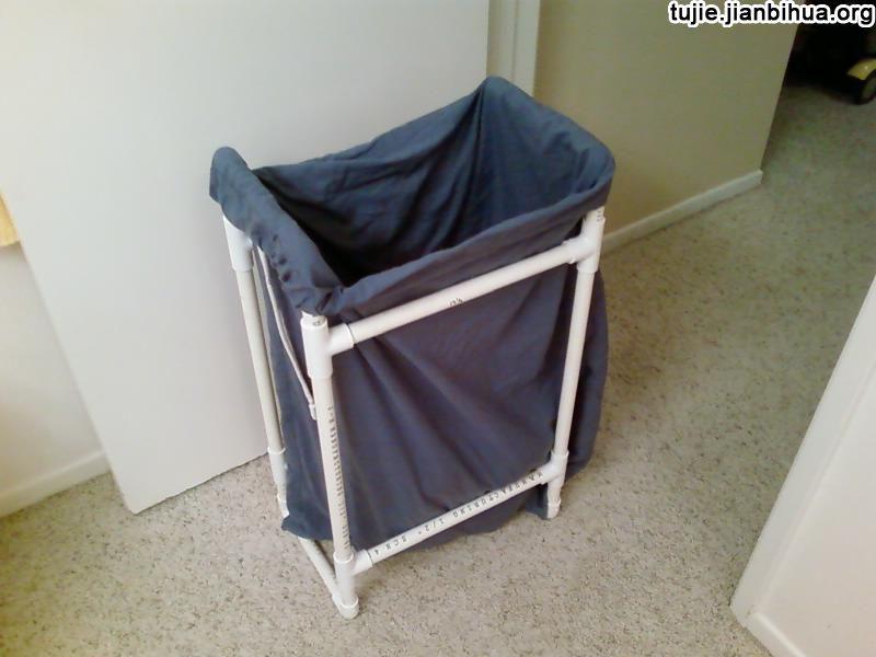 水管制作环保垃圾箱图解教程