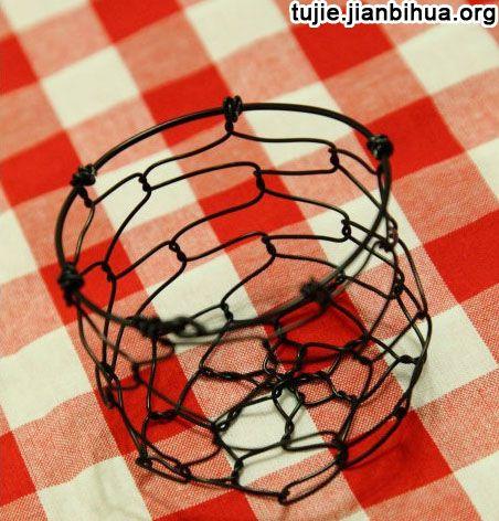 铁丝工艺品制作方法图片展示_铁丝工艺品制作方法