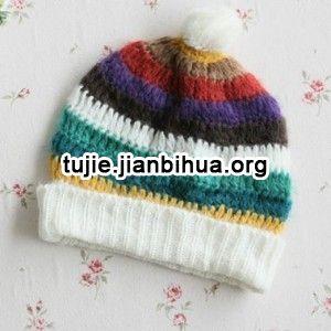 毛线帽子编织图解