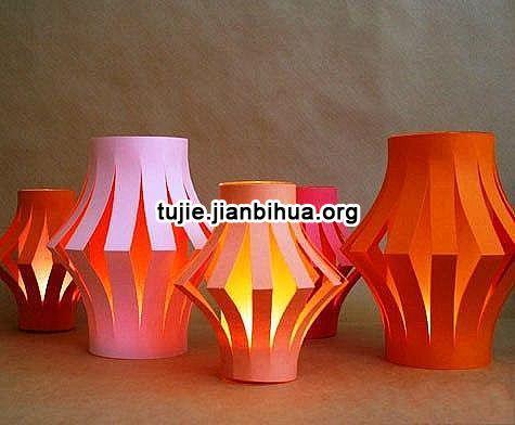 纸灯笼制作方法