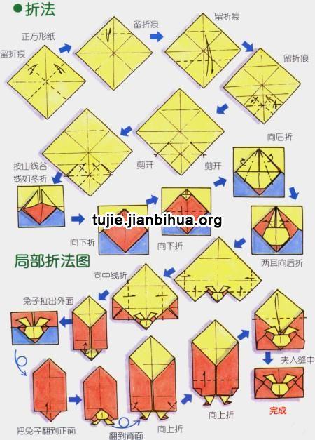 传统手工 > 折纸信封的做法图解