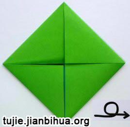 褶皱花边折纸盒子图解教程