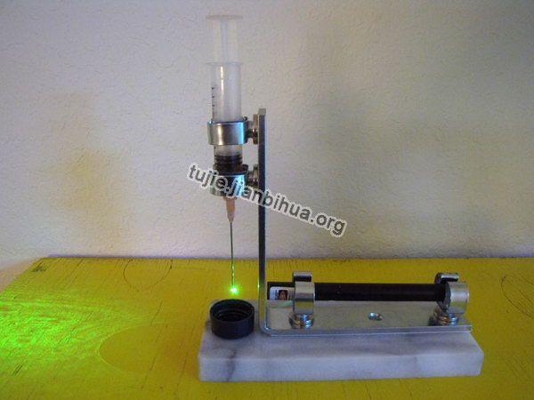 家庭水幕墙图片_激光束制作简易显微镜图解(第2页)