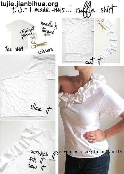 衬衫裙子做法图解