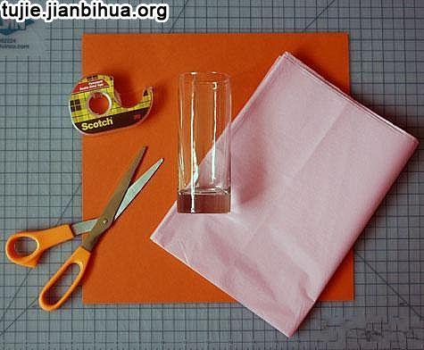 纸灯笼的做法教程图解