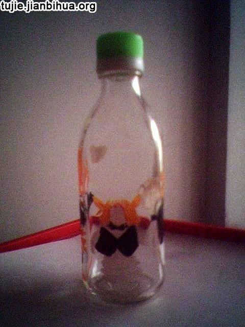 手绘瓶子制作图解教程