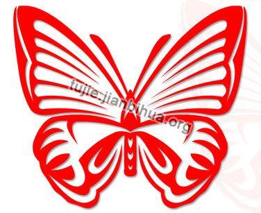 简约蝴蝶剪纸教程图解