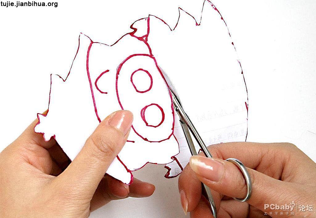 小猪护腕制作步骤图解