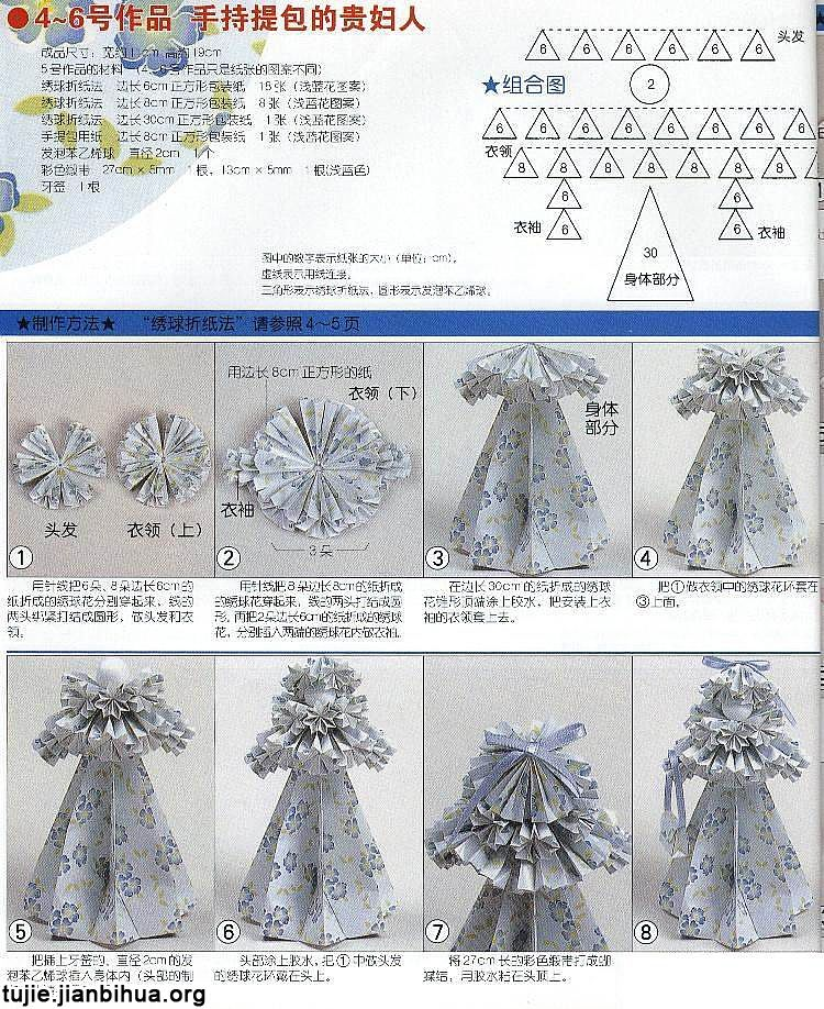 纸娃娃的制作步骤图解
