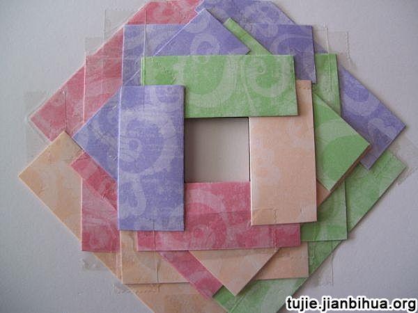 折纸贺卡方法图解