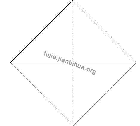 折纸盒的折法教程图解