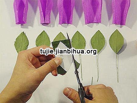 50种纸玫瑰折法之餐巾纸玫瑰花制作步骤