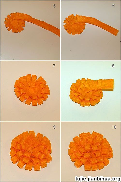 不织布装饰画方法图解