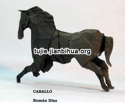 折纸马的做法图解