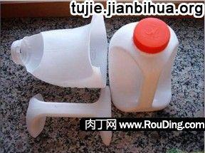 酸奶瓶制作收纳盒方法图解